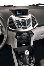 Форд EcoSport. Центральная консоль