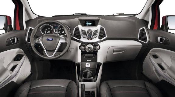 Форд EcoSport. Интерьер
