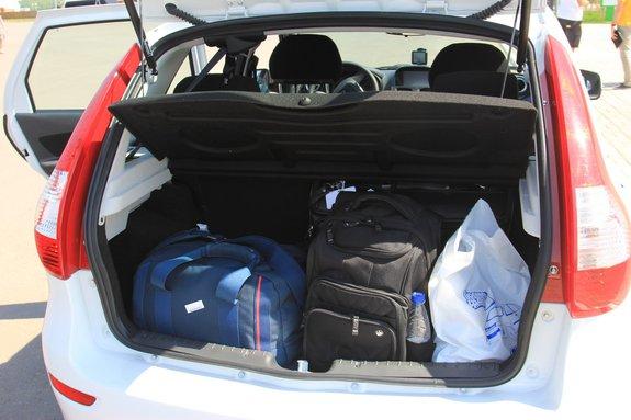 Багажник Lada Kalina 2