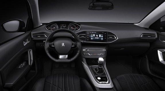 Новый Peugeot 308: интерьер