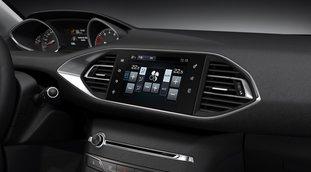Новый Peugeot 308: 9,7-дюймовый сенсорный экран