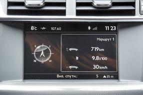 Экран борт.компьтера Citroen C4 Sedan