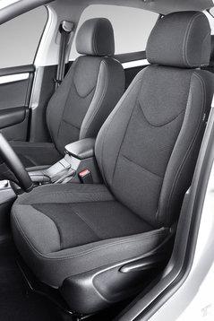 Фронтальные кресла Citroen C4 Sedan