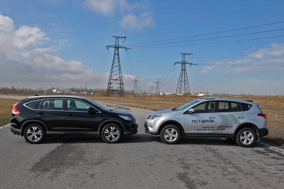Тоета RAV4 VS Honda CR-V