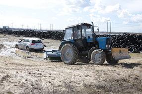 """Тоета RAV4 VS Трактор """"Беларусь"""""""