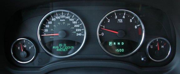 Приборный щиток Jeep Compass