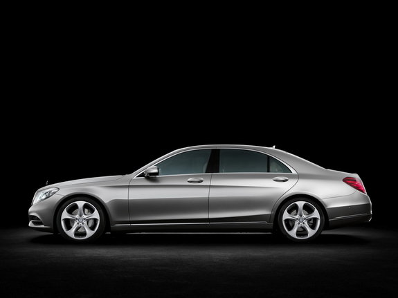 Гибридный Mercedes S класса