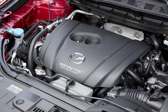 Мазда CX-5 с новым мотором 2,5