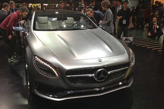 Мерседес-бенз S-class Coupe