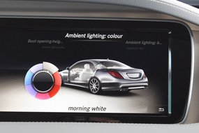 Экран Мерседес-бенз S63 AMG