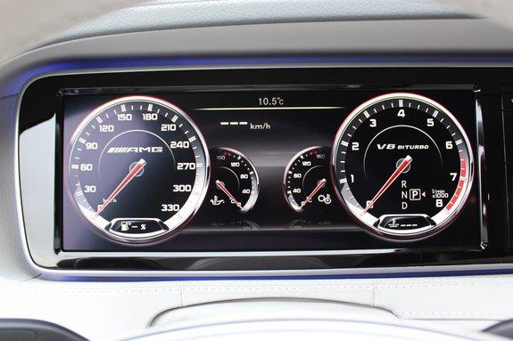 Щиток Мерседес-бенз S63 AMG