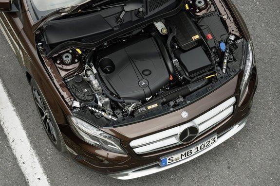 Мерседес-бенз GLA: дизельный движок 2.2 л, 170 л. с.