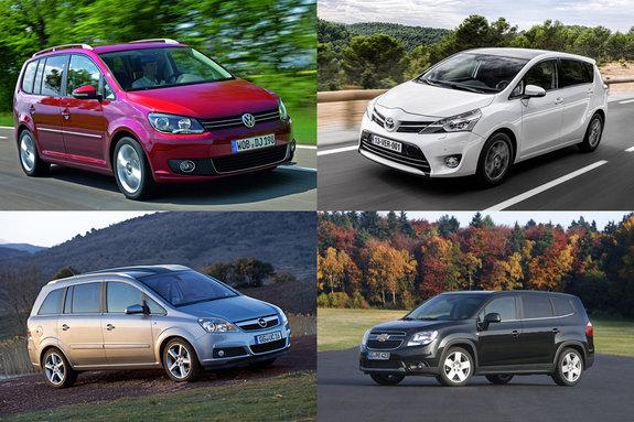 Семиместные авто: минивэны и компактвэны