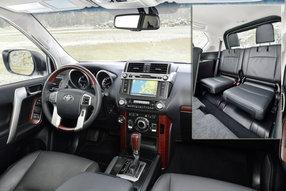 Тоета Land Cruiser Prado: интерьер
