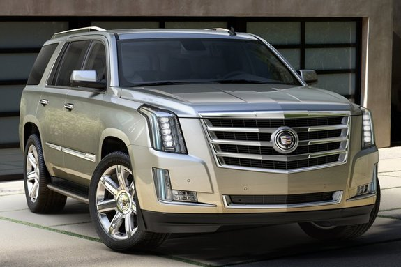 Новый Cadillac Escalade