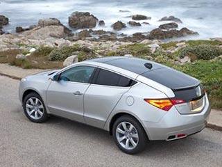 Acura представляет серийный полноприводный кроссовер ZDX