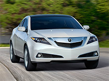 Acura обновила ZDX перед снятием с производства