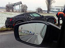 Alfa Romeo 4C попала в аварию во время тестов (ВИДЕО)