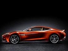 Новый Aston Martin Vanquish доступен для заказа в России