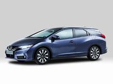 Honda показала универсал Civic: багажник на 624 л и активная подвеска