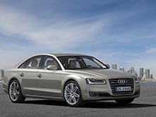 Обновленную Audi A8 представили перед презентацией во Франкфурте