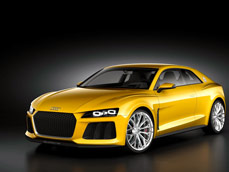 Audi показала концепт мощнейшего купе Sport quattro