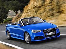 Audi раскрыла новый кабриолет A3 до Франкфурта