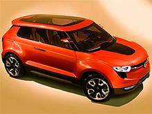 В следующем году SsangYong представит конкурента Nissan Juke