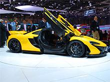 Гибридный суперкар McLaren P1 пошел в серию