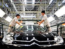 Citroen тестирует новый седан в Китае