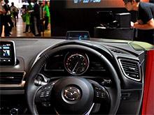 Впервые Mazda3 получит проекционную приборную панель