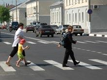 МВД: пешеходы провоцируют вдвое больше аварий, чем пьяные водители