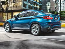 "Папарацци ""поймали"" новый BMW X6 на трассе Нюрбургринг"