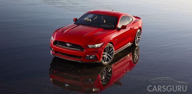 Ford официально представил новый Mustang (видео)