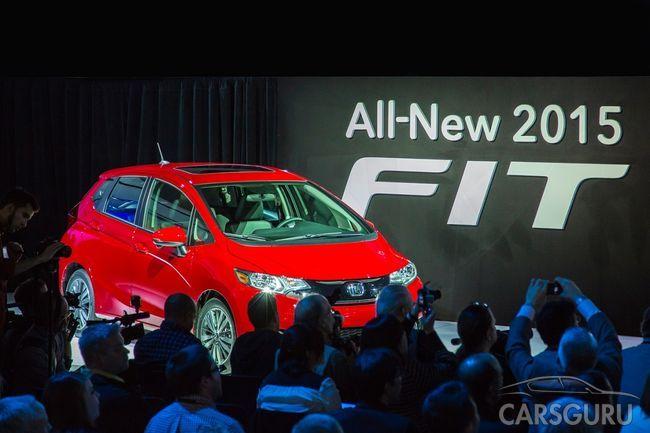 Honda представила новый Fit на автосалоне в Детройте