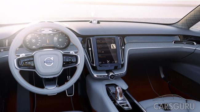 Volvo официально представила Concept Estate (видео)