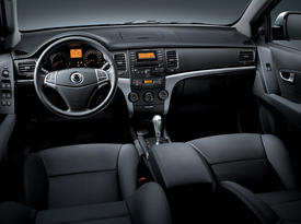 SsangYong New Actyon. Салон