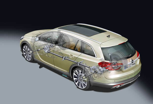 Opel Insignia: рестайлинг и модификация для «глубинки»