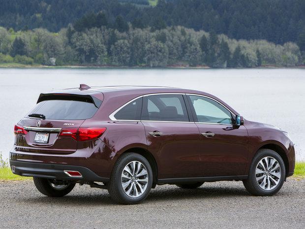 Кроссоверы Acura RDX и MDX появятся в России весной.