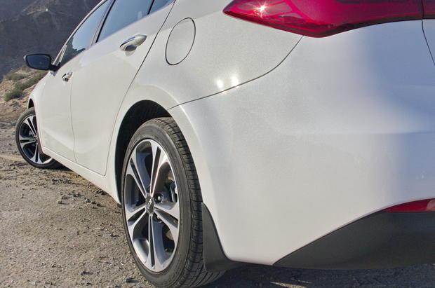 Kia Ceratо: без бури в пустыне
