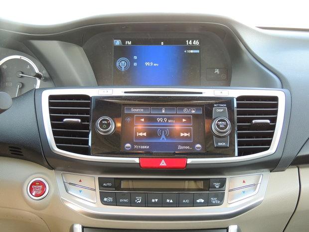 Honda Accord: большой и мажорный