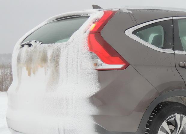 Honda CR-V: зимние впечатления на владимирских трактах