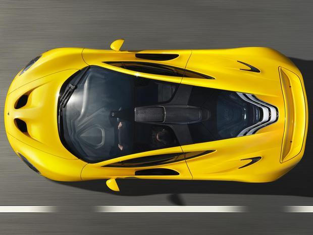 McLaren P1 – гипергибриды наступают!