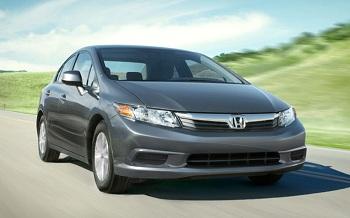 автомобиль Honda Цивик девятого поколения