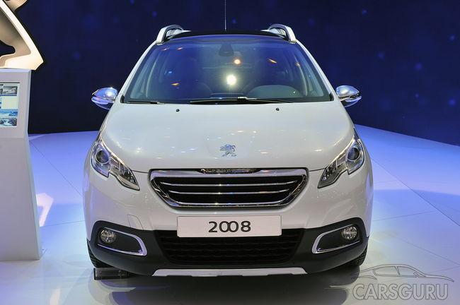 В России стартовали продажи городского кроссовера Peugeot 2008